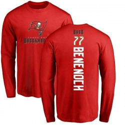 Men's Caleb Benenoch Tampa Bay Buccaneers Backer Long Sleeve T-Shirt - Red